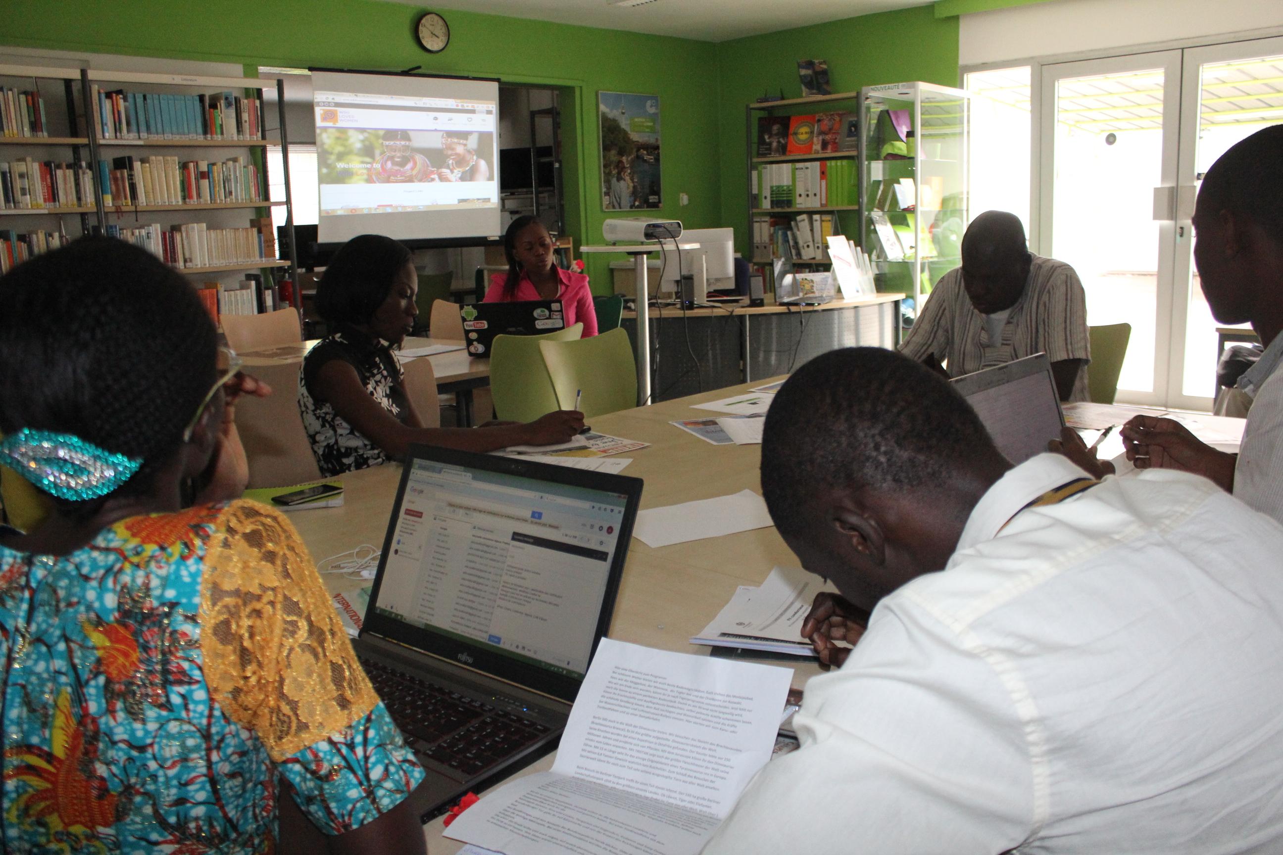 Launching Wiki Loves Women in Ivory Coast