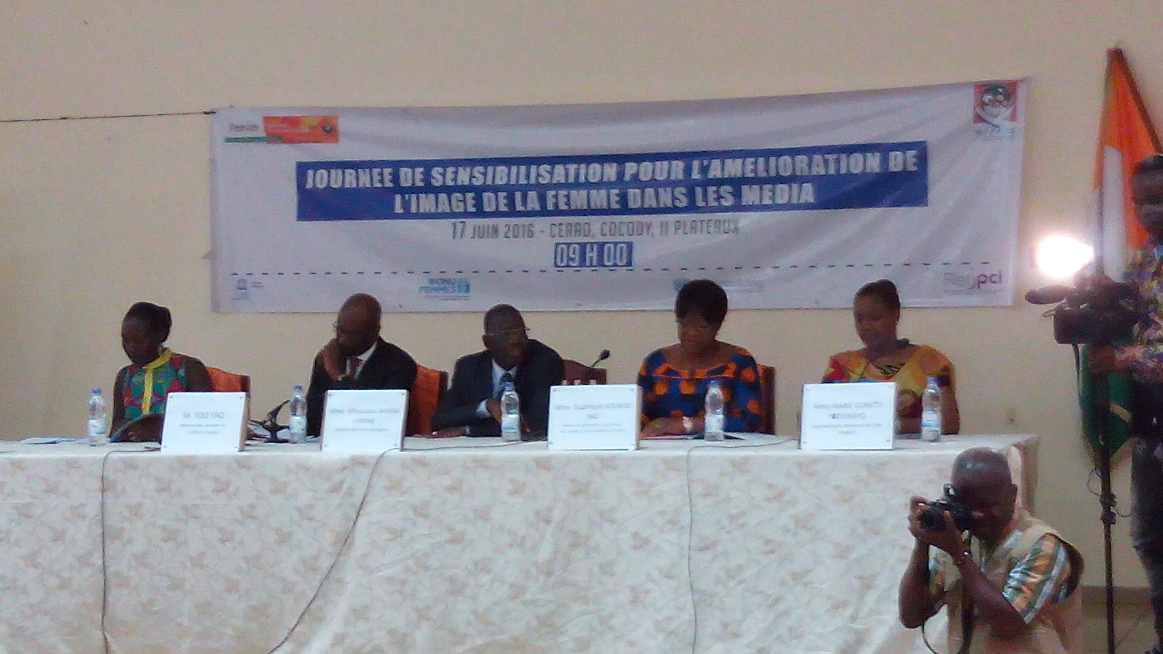 'Improving women's image in medias in Cote d'Ivoire' Awareness Day