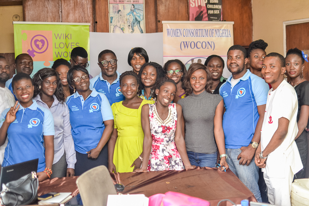 Wikimedia UG Nigeria Organized her Third Wiki Loves Women's Event in Grand Style tagged Women in Civic Society and Humanity