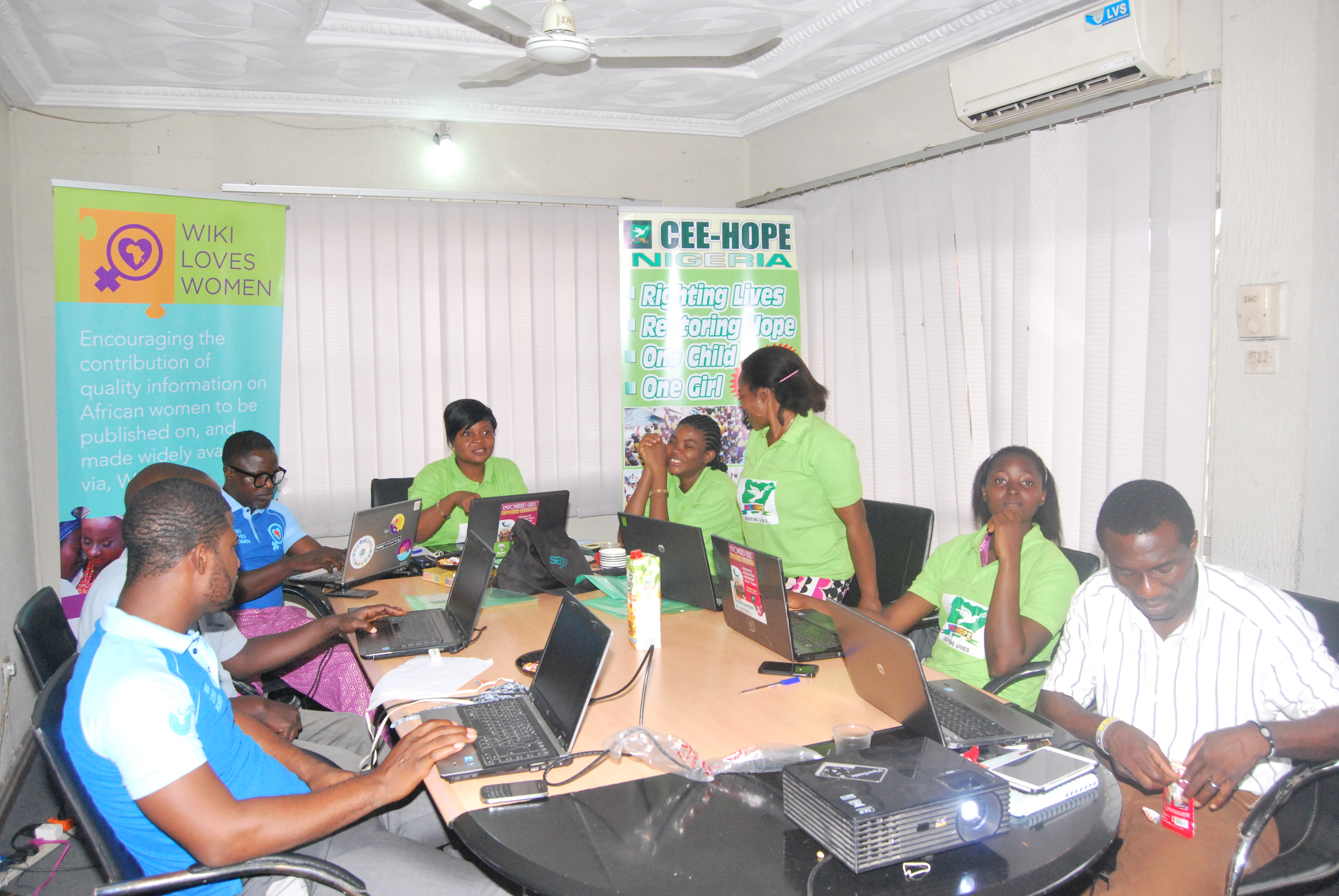 WOW !!! Second Edit-a-Thon organised with CEE-HOPE Nigeria