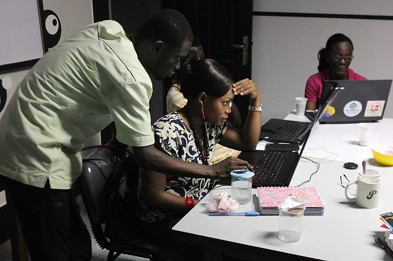 Flashback on the second  'Soirée contributive' from Wikimedia Côte d'Ivoire