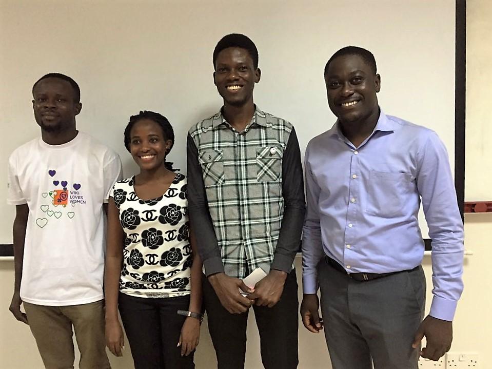 WLW stuns Ashesi University