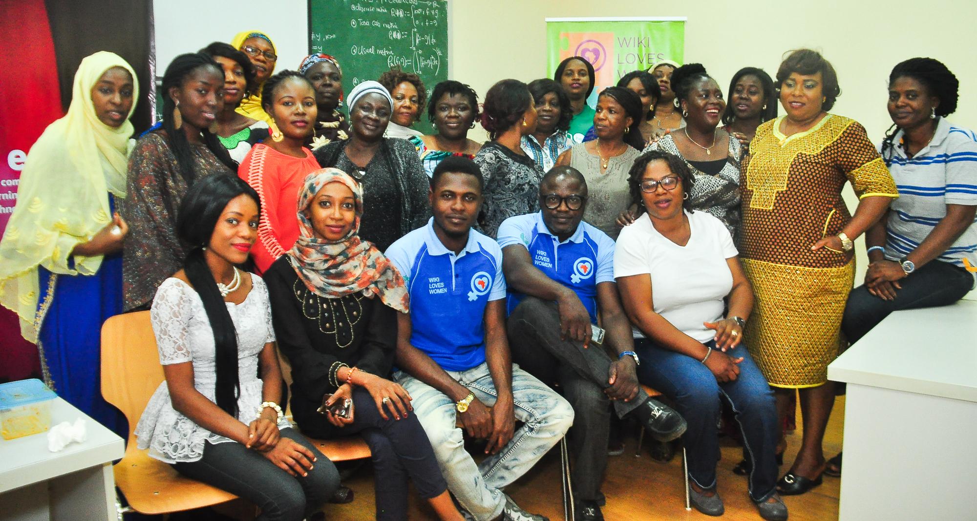 Wiki Loves Women redéfinit l'identité de la femme nigériane à travers Wikipédia