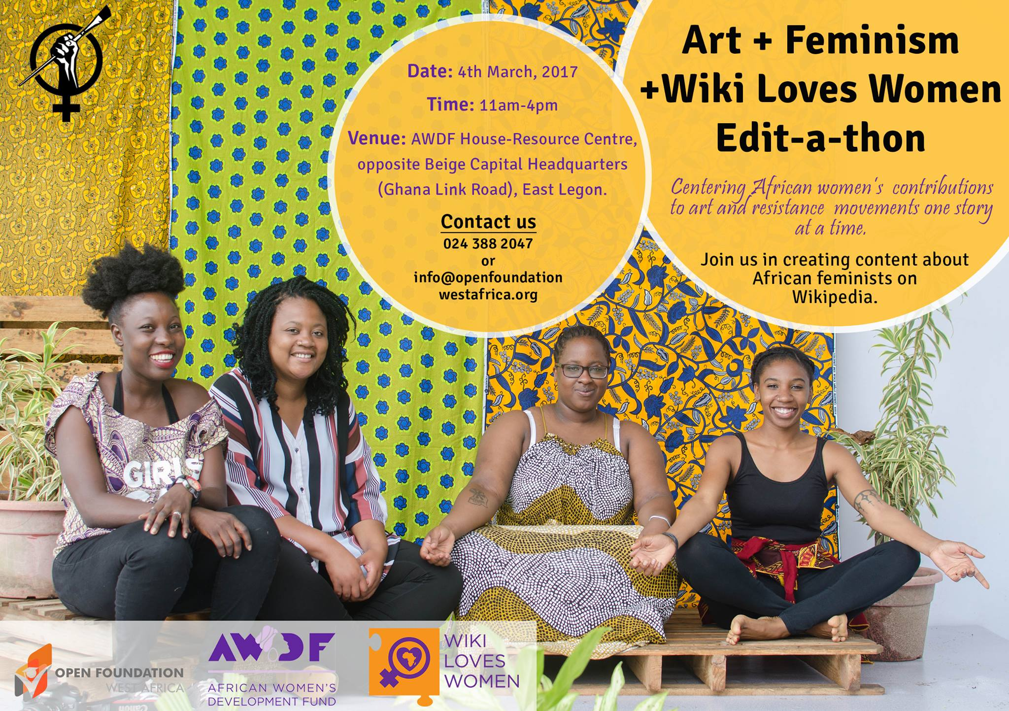 Ghana holds Art+Feminism Wiki Loves Women Edit-a-thon