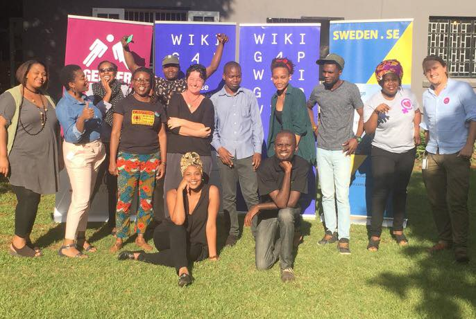 WikiGap Harare supported by Wiki Loves Women