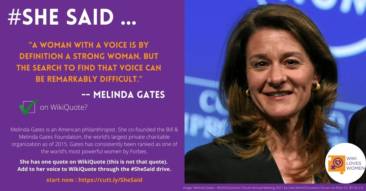 #SheSaid Amplifies the voices of 867 women during 2020